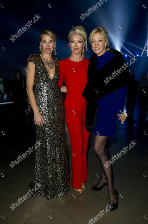 'Skyfall' Uk Premiere After Party in the Turbine Hall Tate Modern Anastasia Webster Tamara Beckwith and Nadja Swarovski