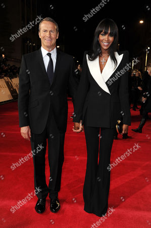 'Skyfall' Uk Royal Premiere at the Royal Opera House Naomi Campbell with Her Boyfriend Vladimir Doronin