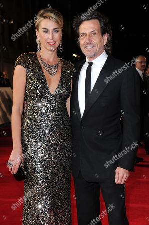 'Skyfall' Uk Royal Premiere at the Royal Opera House Stephen Webster with His Wife Anastasia