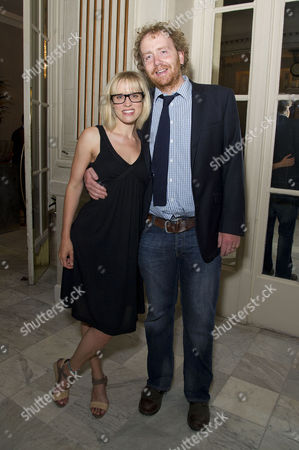 'Soul Sister' Press Night After Party at the Waldorf Hotel Beth Cordingly with Her Husband Adam Speers