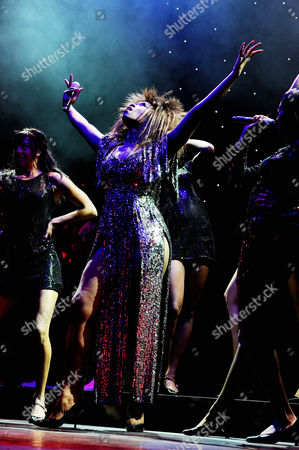 'Soul Sister' Press Night Curtain Call at the Savoy Theatre Emi Wokoma (tina Turner)