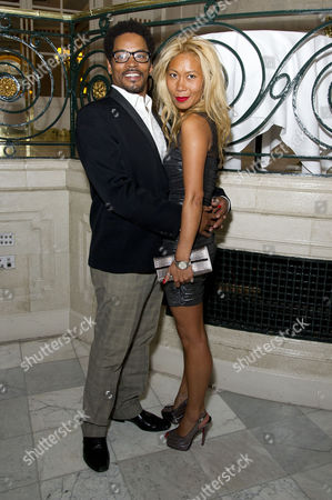 'Soul Sister' Press Night After Party at the Waldorf Hotel Chris Tummings (ike) with His Girlfriend 'H'