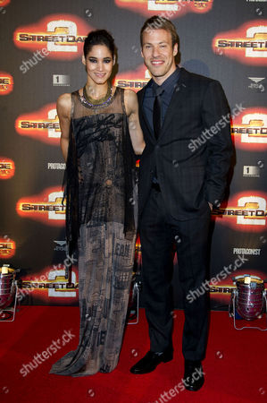 'Street Dance 2' World Premiere at the 02 Greenwich Falk Hentschel and Sofia Boutella