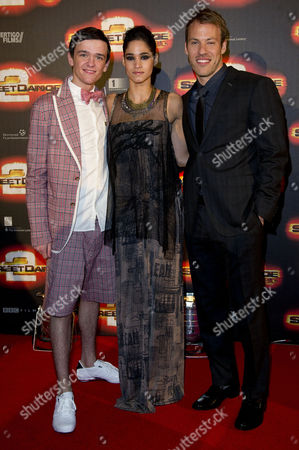 'Street Dance 2' World Premiere at the 02 Greenwich George Sampson Sofia Boutella and Falk Hentschel