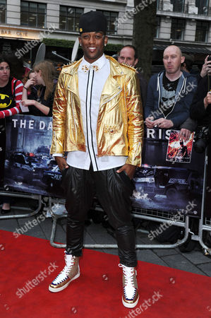 'The Dark Night Rises' European Premiere at the Odeon Leicester Square Oritse Williams Jls