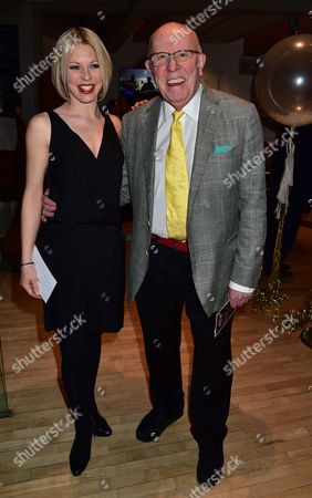 Vip Gala Night For the Northern Ballets Rendition of 'The Great Gatsby' at Sadlers Wells Theatre Islington London Kelly Adams & Richard Wilson