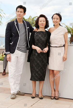 'The Housemaid' Photocall at the Festival De Palais During the 63rd Cannes Film Festival Jason Chae Youn Yuh-jung Jeon Do-youn