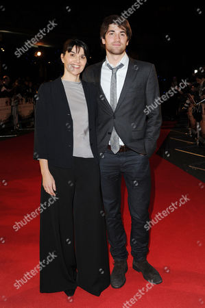 'The Impossible' Premiere at the Bfi Imax Waterloo Maria Belon with Lucas Belon Who Are Portrayed in the Film