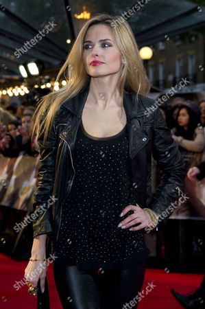 'The Lucky One' Uk Premiere at the Bluebird Cafe Kings Road Agne Motiejunaite (made in Chelsea)