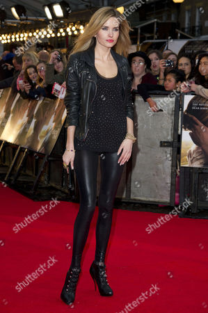 Stock Picture of 'The Lucky One' Uk Premiere at the Bluebird Cafe Kings Road Agne Motiejunaite (made in Chelsea)