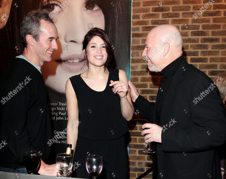'The Master Builder' Press Night at the Almeida Theatre Islington Stephen Dillane Gemma Arterton and Director Travis Preston