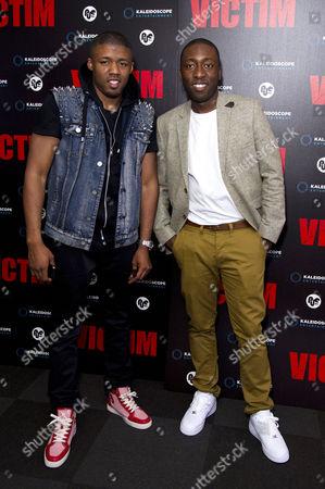 'Victim' Uk Premiere at the Apollo Cinema Regents Street Ashley Chin and Michael Maris