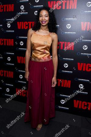 'Victim' Uk Premiere at the Apollo Cinema Regents Street Shanika Warren-markland
