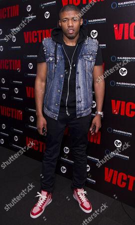 'Victim' Uk Premiere at the Apollo Cinema Regents Street Ashley Chin