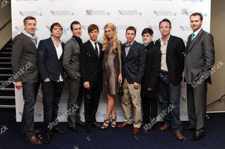 'Wasteland' Screening at the Odeon Westend During the 56th Bfi London Film Festival Mark Foglino Rowan Athale Matthew Lewis Luke Treadaway Vanessa Kirby Gerard Kearns and Iwan Rheon Neil Maskall and Ed Barrett