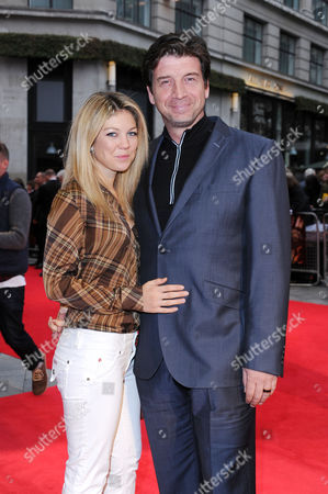 'Wasteland' Screening at the Odeon Westend During the 56th Bfi London Film Festival Nick Knowles with His Girlfriend Jessica Morris