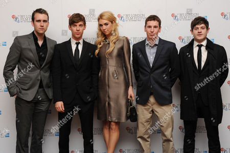'Wasteland' Screening at the Odeon Westend During the 56th Bfi London Film Festival Matthew Lewis Luke Treadaway Vanessa Kirby Gerard Kearns and Iwan Rheon