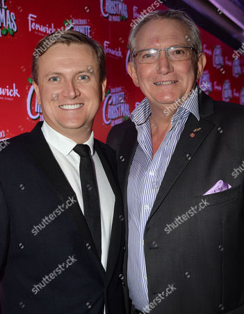 'White Christmas' Press Night and Afterparty at the Dominion Theatre and Bloomsbury Ball Room Aled Jones and Graham Cole