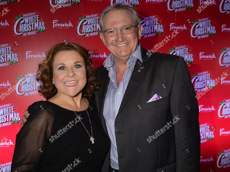 'White Christmas' Press Night and Afterparty at the Dominion Theatre and Bloomsbury Ball Room Wendi Peters and Graham Cole