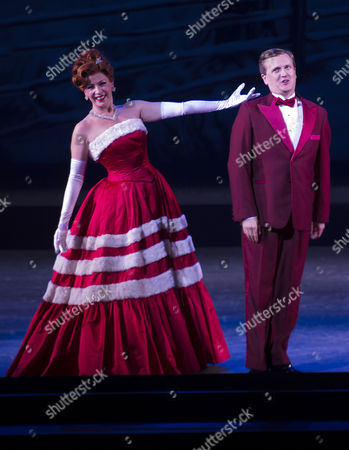 Editorial picture of 'White Christmas' Press Night - 12 Nov 2014