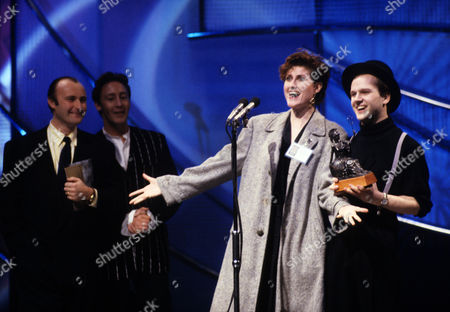 The 1989 Bpi Awards (brits) at the Grosvenor House Hotel Fairground Attraction with Eddi Reader Who Won Best British Album with 'The First of A Million Kisses'
