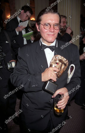 British Film and Television Awards at the Grosvenor House Hotel Stephen Woolley with the Alexander Korda Award For Oustanding British Film of the Year For 'The Crying Game'