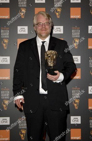 British Academy Film Awards at the Odeon Leicester Square - Press Room Philip Seymour Hoffman with His Award For Best Actor