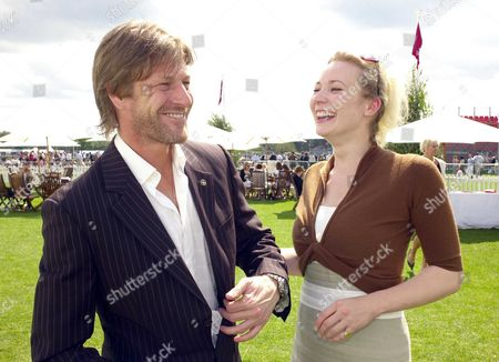 the Cartier International Polo at the Guards Club Smiths Lawn Windsornal Polo at the Guards Club Smiths Lawn Windsor Sean Bean with Georgina Sutcliffe