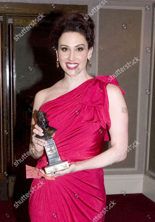 Olivier Awards and Afterparty at the Grosvenor House Hotel Park Lane Lesli Margherita (best Supporting Performer in A Musical For 'Zorro')