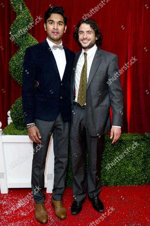 2012 Soap Awards at Itv Studios Southbank Himesh Patel and Marc Elliot