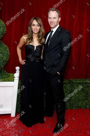 2012 Soap Awards at Itv Studios Southbank Samia Smith and Will Thorp