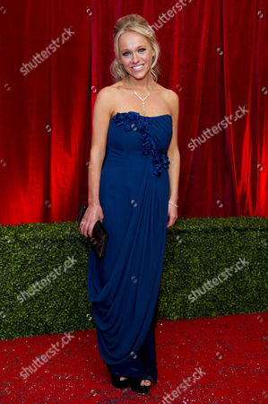 Stock Photo of 2012 Soap Awards at Itv Studios Southbank Sophie Abelson