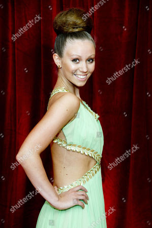 Stock Picture of 2012 Soap Awards at Itv Studios Southbank Tamaryn Payne