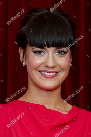 Stock Photo of 2012 Soap Awards at Itv Studios Southbank Amy Downham