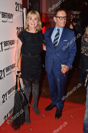 21st Anniversary Party For Roar at the Avenue St James Anthea Turner and Richard Desmond