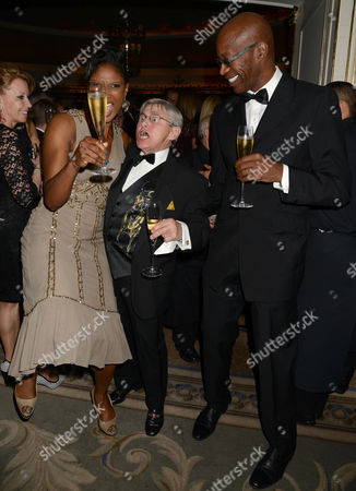 22nd Cartier Racing Awards at the Ballroom Dorchester Hotel Mayfair Denise Lewis Willie Carson and Ed Moses