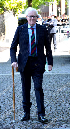 60th Anniversary Service to Celebrate the Coronation at Westminster Abbey - Arrivals Lord Douglas Hurd