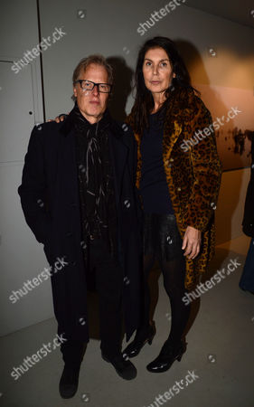 A Private View of Bill Wyman's New Exhibit 'Reworked' at Rook & Raven Gallery Rathbone Place London Annabelle Brooks & James Dearden
