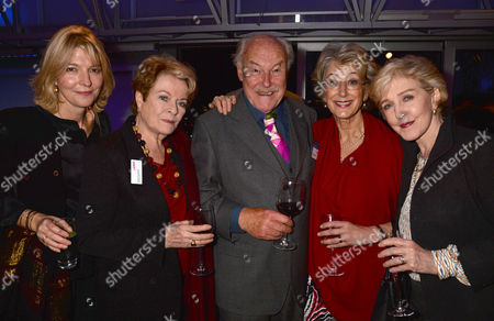 Lamda ( the London Academy of Music & Dramatic Art) Hosts A Reception at the National Theatre to Launch Act Now! – A Campaign to Raise the Remaining Funds Needed to Complete Their Redevelopment Project and Secure Lamda's Future Jemma Redgrave Janet Suzman Timothy West Maureen Lipman & Patricia Hodge