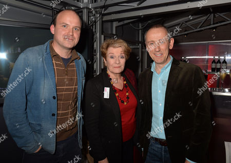 Lamda ( the London Academy of Music & Dramatic Art) Hosts A Reception at the National Theatre to Launch Act Now! – A Campaign to Raise the Remaining Funds Needed to Complete Their Redevelopment Project and Secure Lamda's Future Rory Kinnear Janet Suzman & Nicholas Hytner