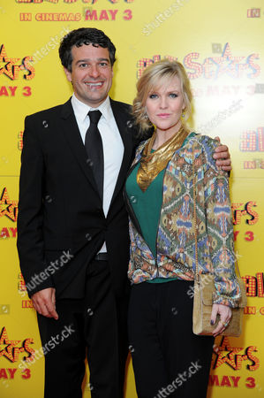 All Stars Film Premiere at the Vue Leicester Square Director Ben Gregor and Ashley Jensen