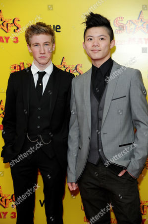 All Stars Film Premiere at the Vue Leicester Square Dominic Herman Day and Kieran Lai
