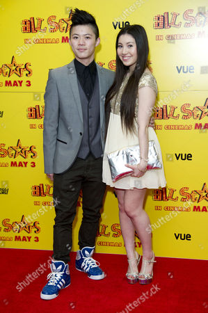 All Stars Film Premiere at the Vue Leicester Square Kieran Lai and Hanae Atkins