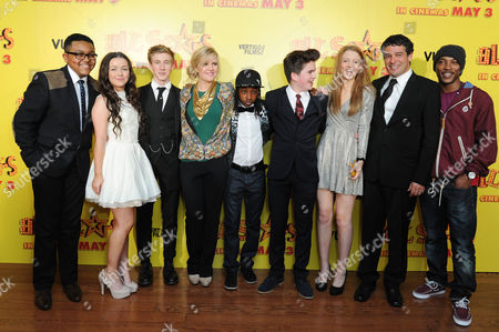 All Stars Film Premiere at the Vue Leicester Square Gamal Toseafa Fleur Houdijk Dominic Herman Day Ashley Jensen Akai Theo Stevenson Amelia Clarkson Director Ben Gregor and Ashley Walters