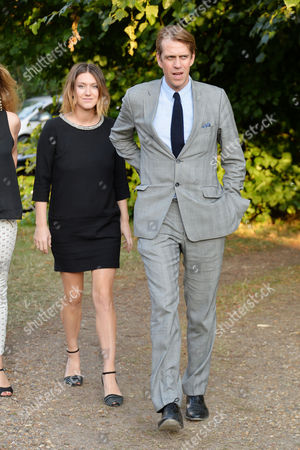 Stock Picture of Annabel Goldsmith Hosts Her Annual Summer Party at Her Home in Richmond Ben Elliot His Wife Mary-clare Elliot