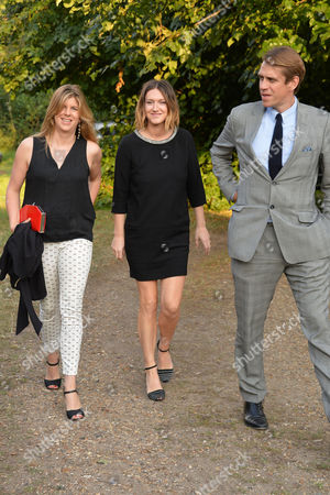 Annabel Goldsmith Hosts Her Annual Summer Party at Her Home in Richmond Katie Elliot Ben Elliot His Wife Mary-clare Elliot