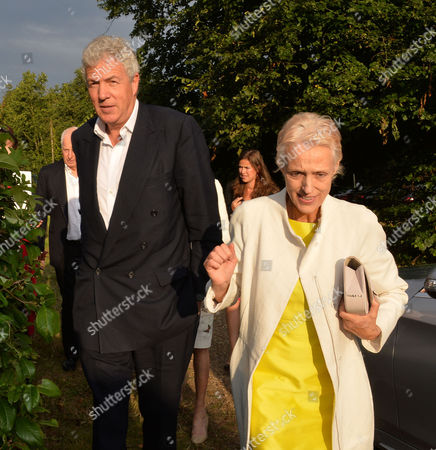 Annabel Goldsmith Hosts Her Annual Summer Party at Her Home in Richmond Henry Wyndham
