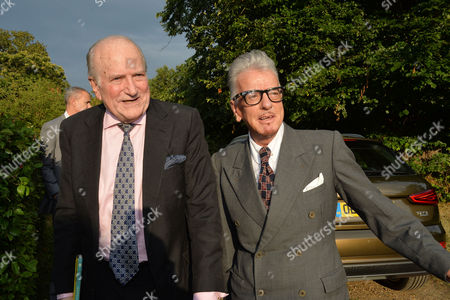 Annabel Goldsmith Hosts Her Annual Summer Party at Her Home in Richmond Claus Von Bulow and Nicky Haslam