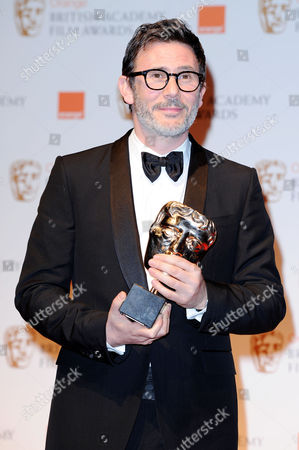 British Academy Film Awards 2012 Press Room at the Royal Opera House Michel Hazanavicius (collected On Behalf of Guillaume Schiffman For 'Best Cinamatography 'The Artist')