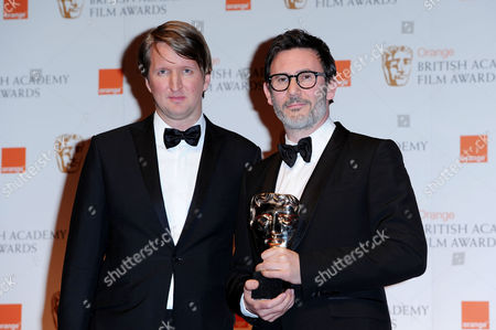 British Academy Film Awards 2012 Press Room at the Royal Opera House Michel Hazanavicius (collected On Behalf of Guillaume Schiffman For 'Best Cinamatography 'The Artist') Presented by Tom Hooper